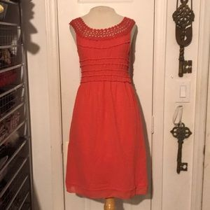 NWT Max Edition size small coral lace dress